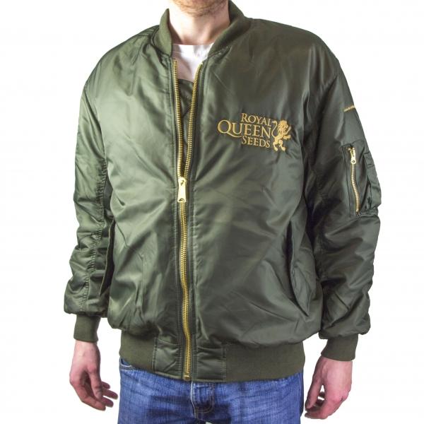 Green RQS Bomber Jacket