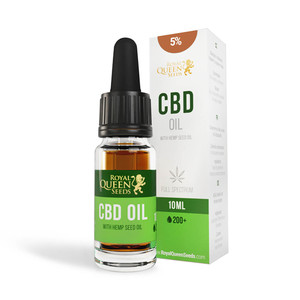 CBD Hemp Seed Oil 5% (500mg)