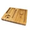 Safata magnética de bambú RQS