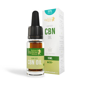 2.5% CBN & 2.5% CBD Oil