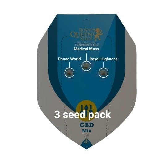3 Seed RQS CBD Mix