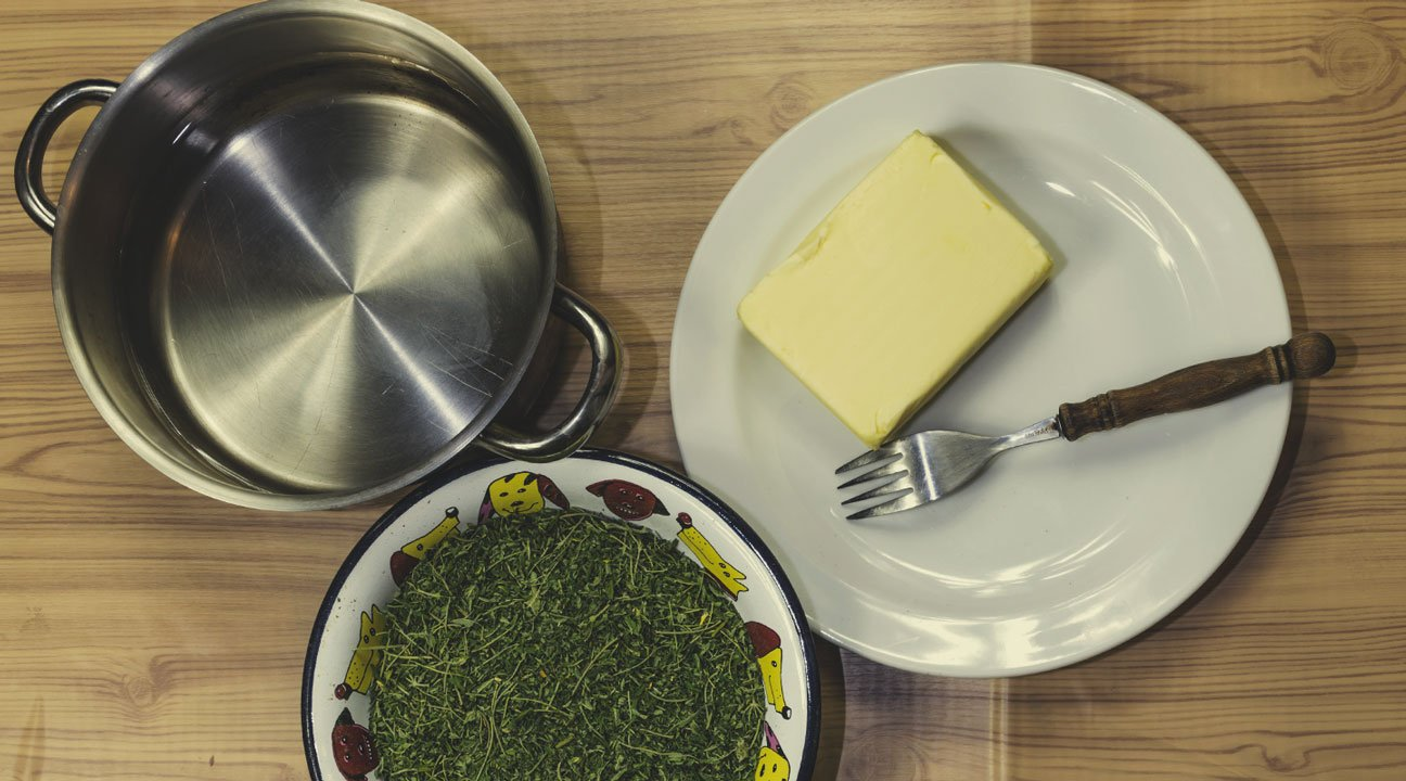 Find A Place To Cook, Buy Ingredients, Chop Up Raw Material