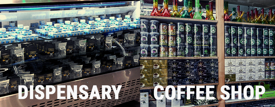 Dispensary vs. Coffee shop